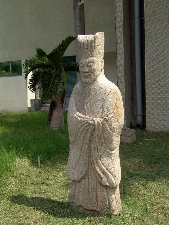 Stone Human Statues