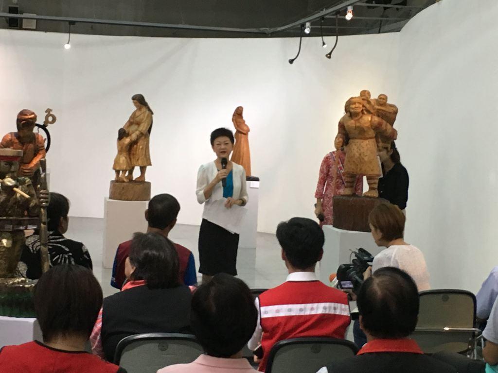 「經典原藝—2017花蓮原住民木雕邀請展」開幕茶會圓滿成功