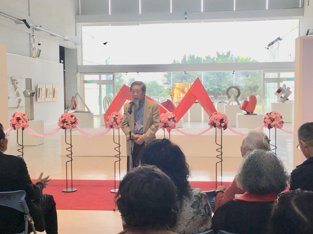 「李再鈐雕塑—九十而作展」開幕式百位嘉賓雲集