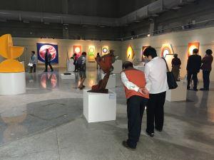 「李再鈐雕塑—九十而作展」開幕式