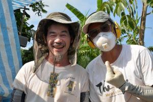 楊正端 老師 (左),邱裕欽 老師 (右)