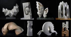 2020花蓮國際石雕藝術季戶外創作營入選模型