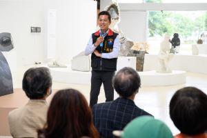 「2020花蓮國際石雕藝術季特展-石動曼波」正式開展