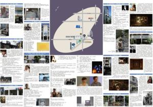 詳細導覽地圖,請至藝托邦或各展示店家索取
